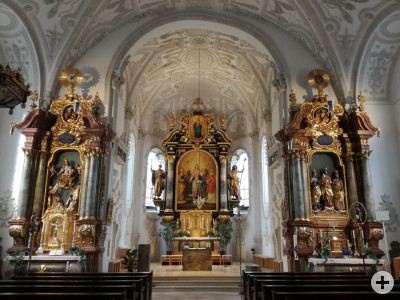 Pfarrkirche St. Margaret Innenansicht