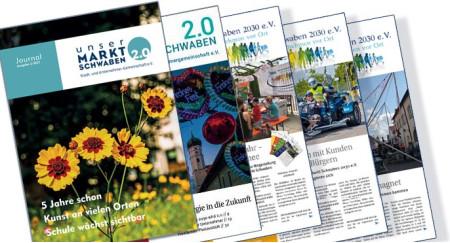 Cover Journal der Stadt- und Unternehmergemeinschaft Markt Schwaben